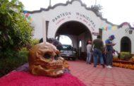 Listo el panteón para recibir a más de 10 mil visitantes por Día de Muertos