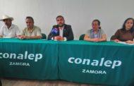 Guillermo Méndez toma las riendas del CONALEP, compromete mantener nivel educativo de plantel Zamora