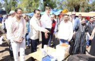 Inician Gobernador y Embajador de EU recorrido en zona lacustre
