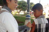 Recuerdan a los jaconenses la importancia de vacunarse contra la influenza