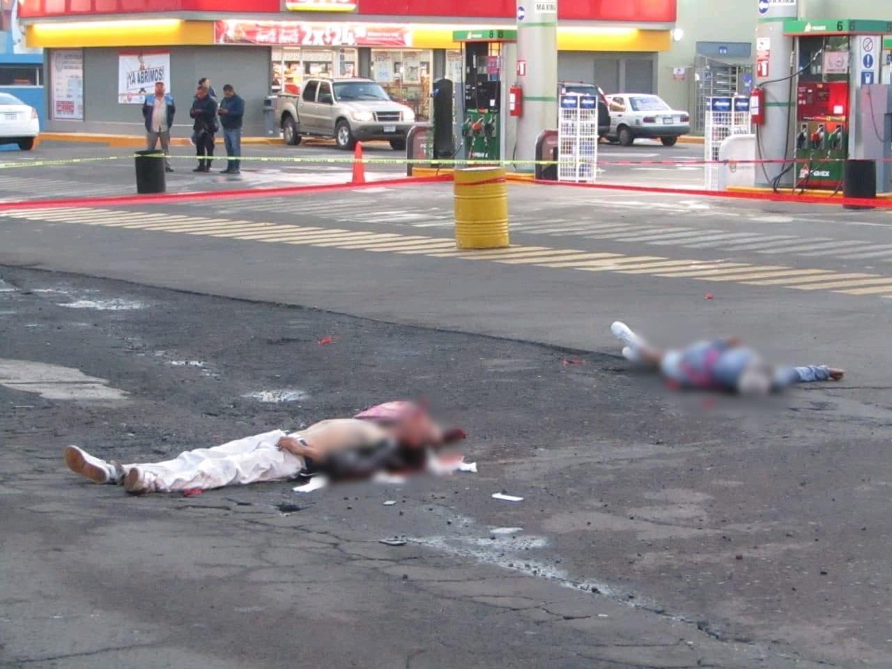 Matan a balazos a dos hombres en la zona Centro de Jacona