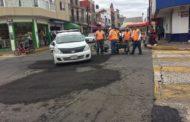 Reciben mantenimiento principales calles de la ciudad