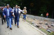 Supervisa Gobernador rehabilitación de espacio turístico-artesanal en El Asoleadero