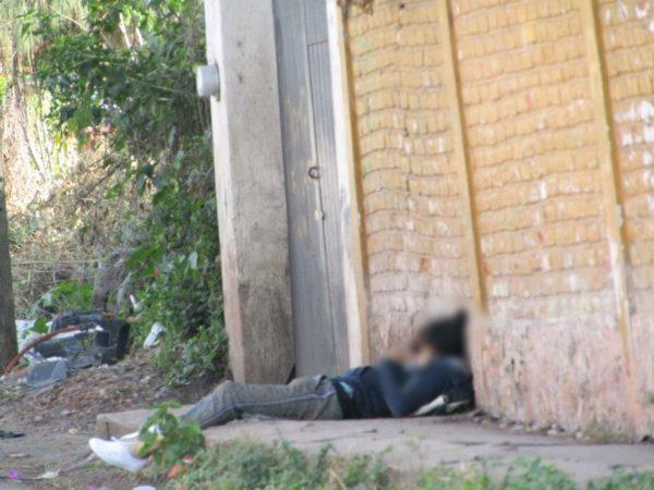 Matan a balazos a un hombre en la Francisco Villa de Jacona