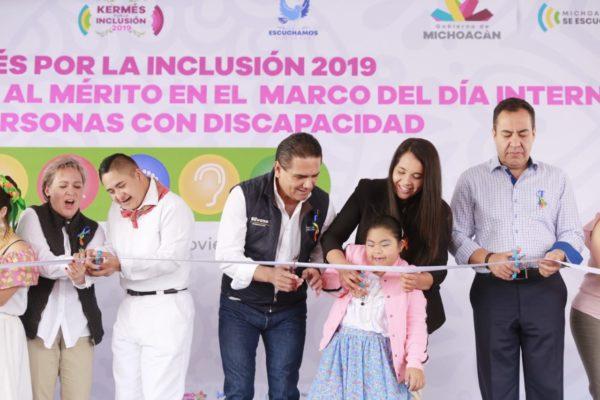 Hacer la inclusión una realidad para lograr un estado de convivencia: Silvano Aureoles