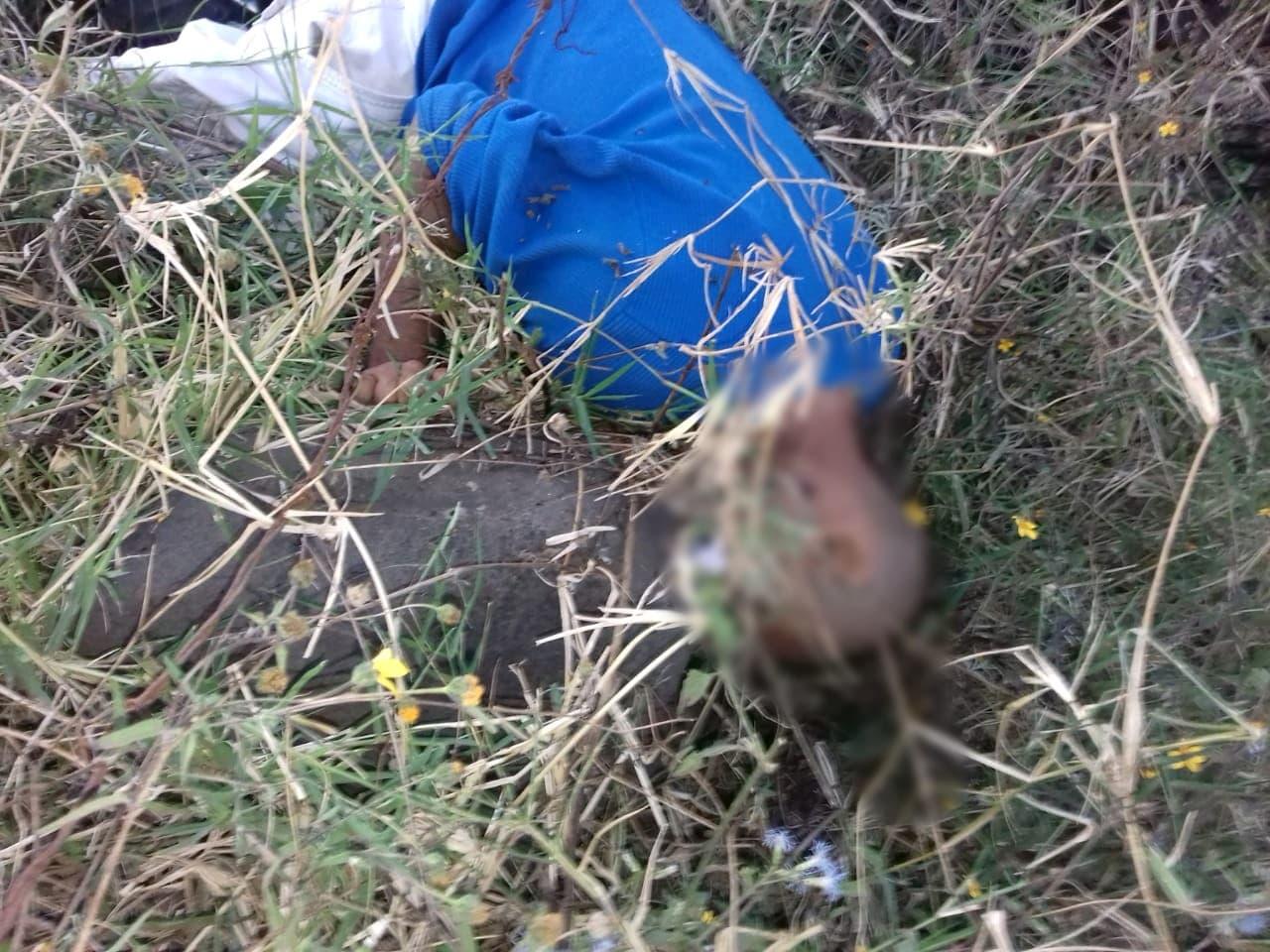 Encuentran un ejecutado en predio desolado de Zamora