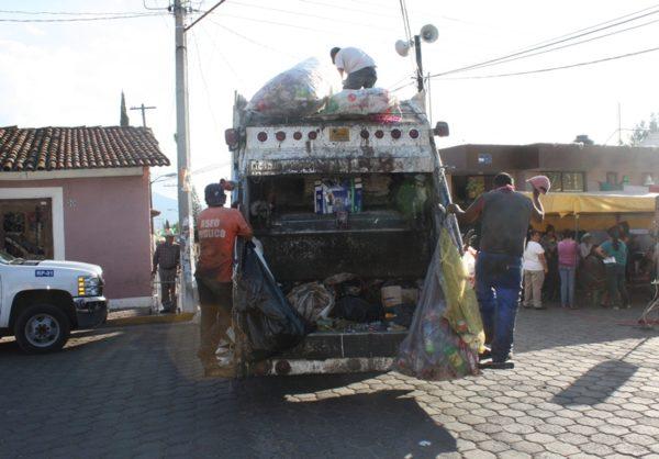 En Zamora sí habrá recolección de basura el 31 de diciembre