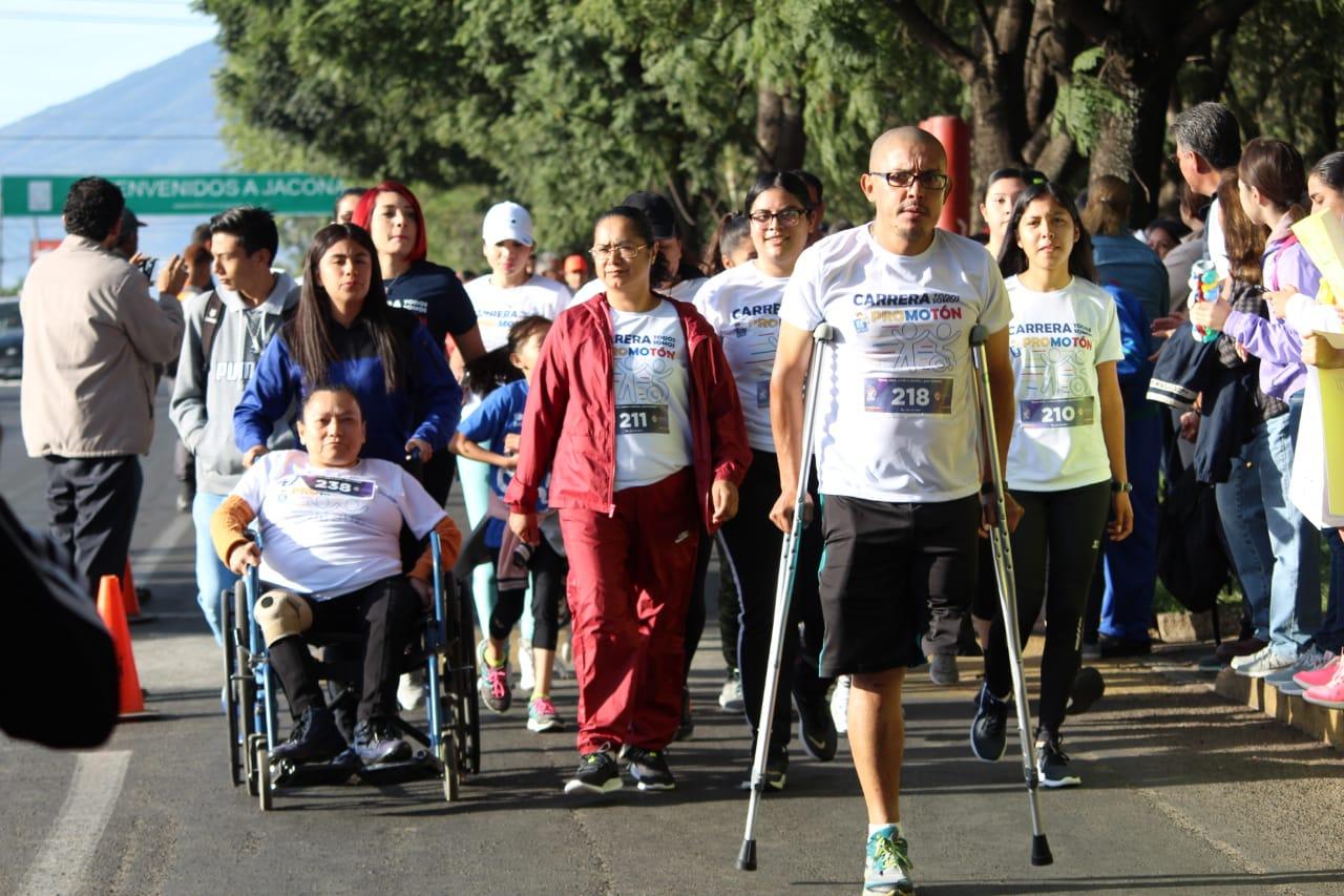 Participan más de 300 en 1a Carrera «Todos somos Promoton 2019»