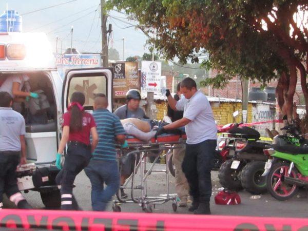 Muere joven baleado en taller de motocicletas de Jacona