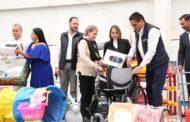 Entrega Gobernador 12 mdp en apoyos e insumos para 113 DIF Municipales