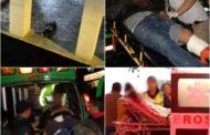 """En pleno centro de Jacona persiguen y matan a """"El Pecas""""; hay 3 personas heridas"""