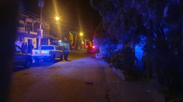Abandonan un descuartizado y le prenden fuego a una casa en Jacona