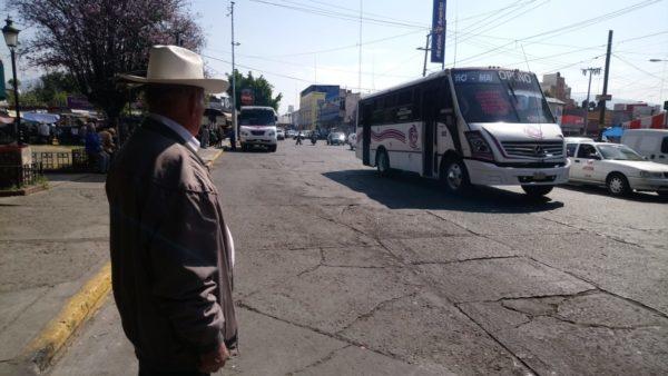 Piden transportistas priorizar balizamiento para reordenar circulación vial
