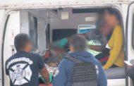 Pareja es baleada en camión de pasajeros en Jacona