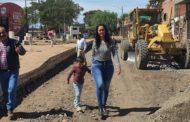 Comienza pavimentación en calle Jesús Carranza