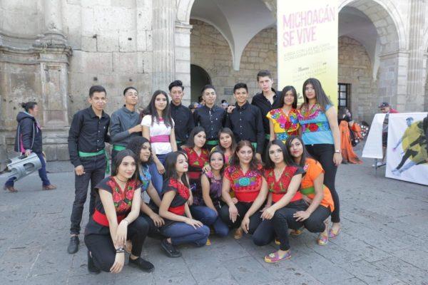 """""""Michoacán se vive"""" nos une como estado y muestra riqueza cultural: jóvenes"""