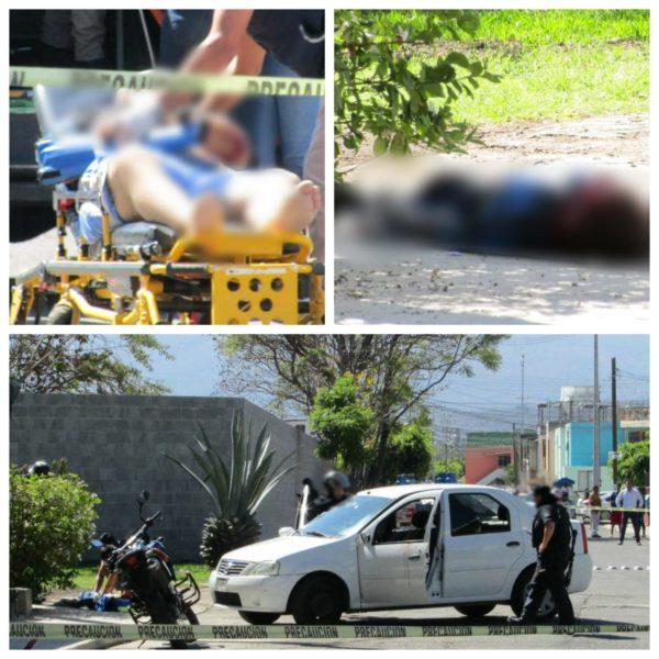 Entre la vida y la muerte niño y su padre baleados por delincuentes en Zamora