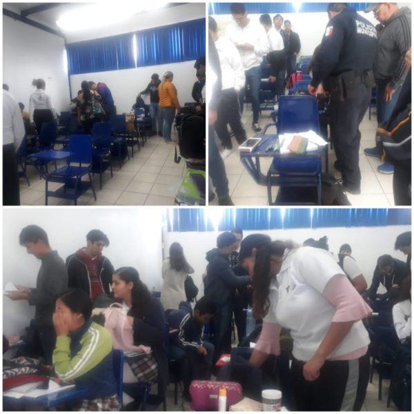 Realiza Seguridad Municipal Operativo Mochila Segura en UNIVER Zamora