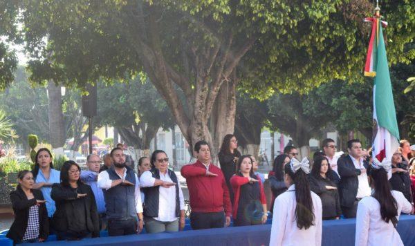 Conmemoraron CLXXXIX aniversario luctuoso de Vicente Guerrero en Tangancícuaro