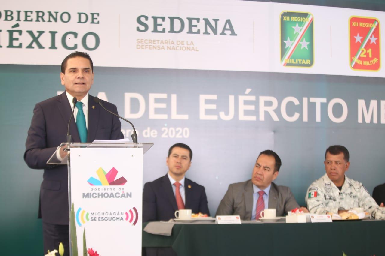 Ejército Mexicano, institución crucial para proteger a las familias: Silvano