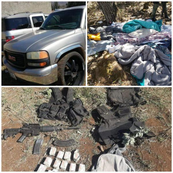 Un presunto delincuente muerto y 3 detenidos en balacera contra personal de la SSP y GN
