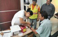 Realizan campaña de salud entre empleados municipales
