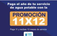 Ciudadano de Ecuandureo, aprovecha, últimos días del 11x12 en el servicio de Agua potable