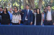 Conmemoraron Día de la Bandera en Tangancícuaro
