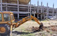 Refuerzan sistema de agua en el Estadio Zamora