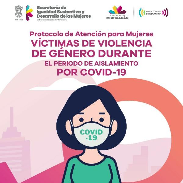 Emite Gobierno del Estado protocolo contra violencia de género durante aislamiento