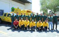 Ejército de hombres y mujeres, listos para proteger nuestros bosques de incendios forestales