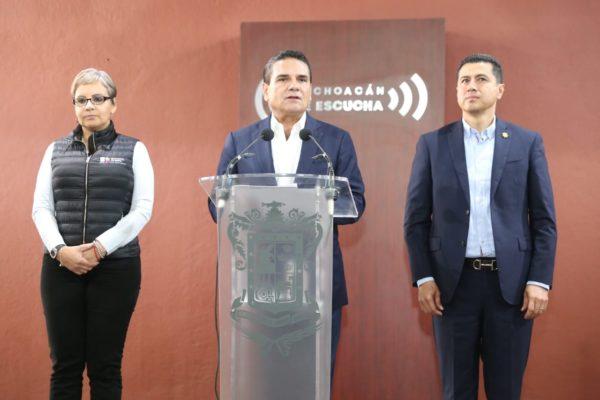 Suspenden en Michoacán clases desde mañana martes para escuelas públicas y privadas
