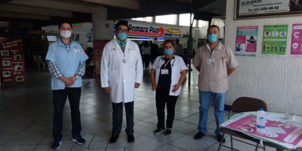 Implementan filtro sanitario en Central de Autobuses para detección  y prevención de COVID-19