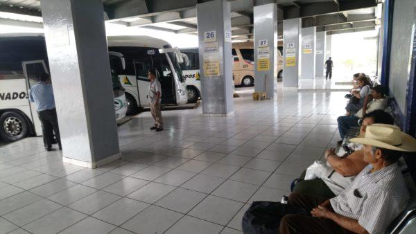 Disminuyen corridas en central de autobuses de Zamora hasta en un 70%
