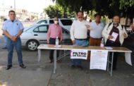 Zamora cuenta con filtros de salud por el COVID-19