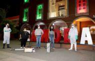 Inició Oficialía Mayor sanitización de espacios públicos