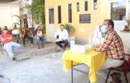 Ángel Macías realizó entrega de guantes, gel antibacterial y cubre bocas al personal de aseo público