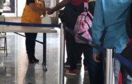 Intensifican filtros sanitarios en la TAM; 25 mil pasajeros revisados