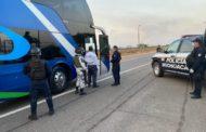 Con 632 oficiales, vigila Michoacán sus fronteras en 12 filtros sanitarios
