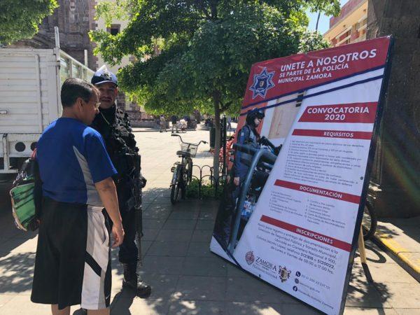 Abre convocatoria 2020 Policía y Tránsito Municipal