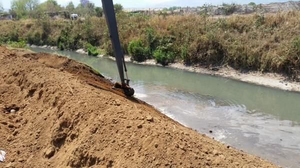 Cumple SAPAZ la séptima semana de trabajos de limpieza y desazolve de drenes y canales del municipio