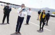 Refuerza Gobernador filtros sanitarios en las entradas a Michoacán