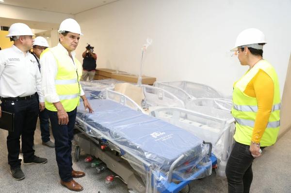 Equipan nuevos hospitales de Ciudad Salud