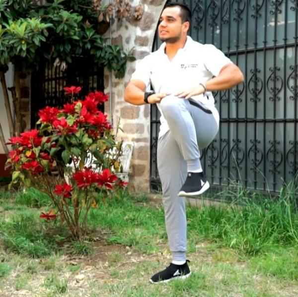 Llama SSM a realizar actividad física en casa