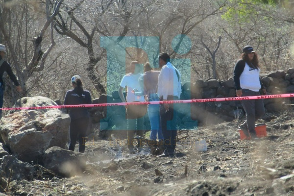 Localizan en Jacona restos humanos calcinados