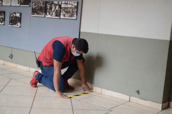 INSTALAN SEÑALÉTICA AL INTERIOR DEL AYUNTAMIENTO DE JACONA