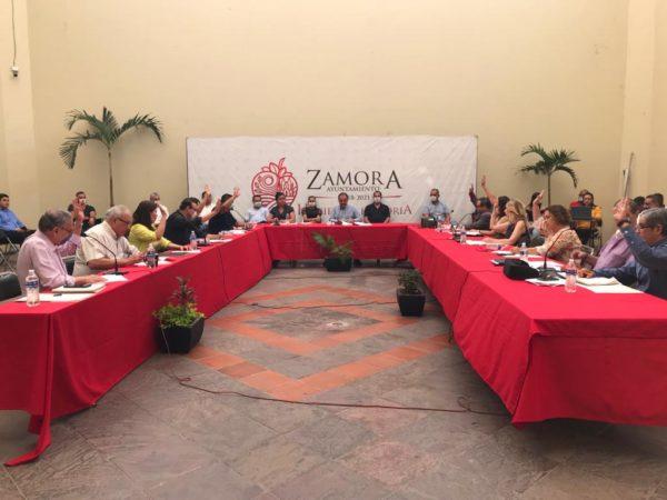 Ayuntamiento aprobó implementación de medidas para protección de la ciudadanía por el COVID-19