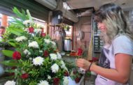 Florerías comienzan  a resentir cancelación de eventos sociales