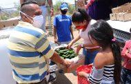 Recibe DIF donación de fruta y realiza entrega a comunidades