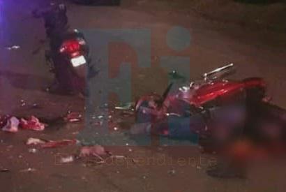 Fatal choque de motos en Zamora; hay un menor muerto y un herido